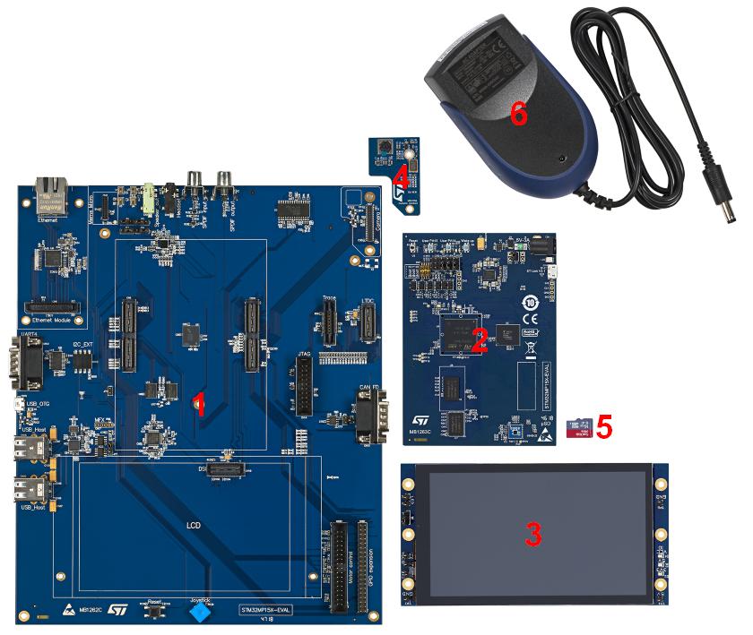 STM32MP157C-EV1 - board assembly - stm32mpu