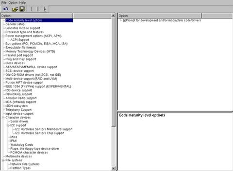 Menuconfig or how to configure kernel - stm32mpu