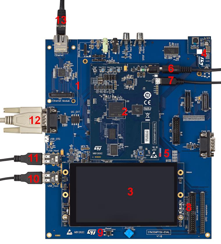 STM32MP15 Evaluation boards - Starter Package - stm32mpu